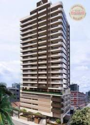 Apartamento com 2 dormitórios à venda, R$ 458.350,00 - Canto do Forte - Praia Grande