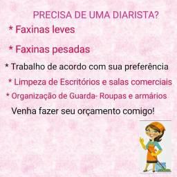 Diarista/ Faxineira