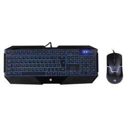 Kit teclado e mouse gamer GK1100 - HP | Lacrado com garantia
