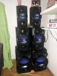 Caixas de som d Philips     SoundMAx