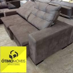 Sofá Retrátil e reclinável 2 m por apenas R$:1.599,00
