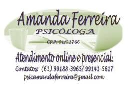 Psicóloga online e presencial