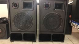 Caixa de som c/ amplificador