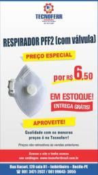 Respirador PPF2 (Com Válvula De Ar)