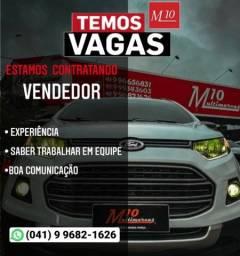 Título do anúncio: Vaga vendedor de carros