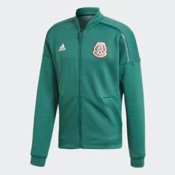 Jaqueta Original Adidas México ZNE, Possui bolsos com zíper