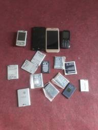 Bateria  e celular