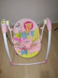 Cadeirinha de balanço elétrica para bebês