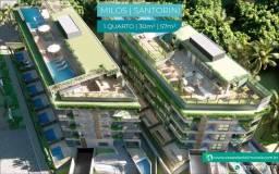 Título do anúncio: Flat com Varanda no Centro de Porto | Academia no Rooftop | Espaço Gourmet | em Porto de G
