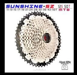 Título do anúncio: Cassete Sunchine 12 velocidades, 11 x 50 dentes.