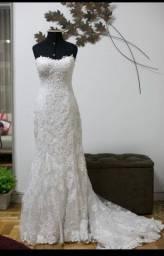 Título do anúncio: vestido noiva maggie sottero