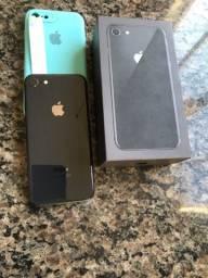 iPhone 8 64 gigas aceito troca