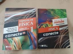 Livro Topicos de Física volume 1 + caderno de revisão do professor
