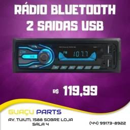 Auto Radio Com bluetooth