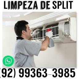 Limpeza de split Manaus