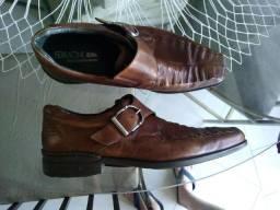 Sapato Ferracini de couro pelíca extra macio estudo troca