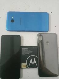 Samsung J4 Core / Moto E 6 Plus.