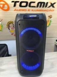 Caixa De Som Trc 5590 Amplificada 1000w Rms Bluetooth Usb