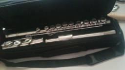 Flauta transversal pé em Dó