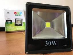 Refletor Holofote Led 30w 6000k