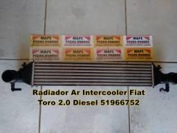 Radiador Ar Intercooler Fiat Toro 2.0 Diesel 51966752
