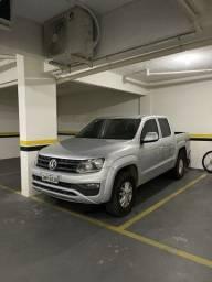 Título do anúncio: Amarok diesel 4x4 2018 completo manual econômico financia sem entrada 100% camioneta boa