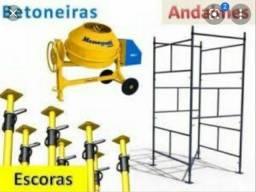 Aluguel de equipamento e máquinas para construção