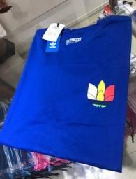 Título do anúncio: Promoção 3 por 100 reais - Camisetas Masculina Adidas 100% Algodão