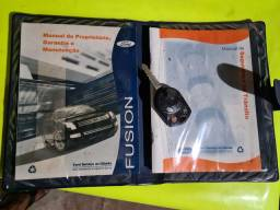 Vendo Manual e Chave reserva do Ford Fusion
