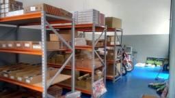 Estante de aço reforçada- organize o estoque porta pallets