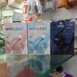 Fone Headphone Bluetooth Completo (FM, SD, AUXILIAR)