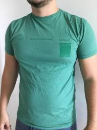 Camisa Calvin Klein Verde TAM M