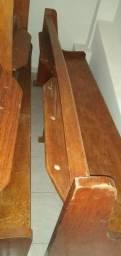 Título do anúncio: bancos de madeira maciça