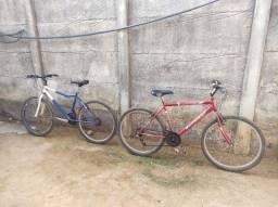 2 bicicletas bike aro 26 adulto 21 marchas