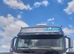 Caminhão Volvo FH460 6x4 ano 2010/11 + Carreta Rodotrem Guerra ano 2015
