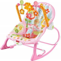 Cadeira de Descanso Bouncer Minha Infância Meninas - Fisher Price<br><br><br>