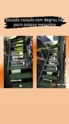 Título do anúncio: Escada metálica, escada reta, escada em L, escada caracol.
