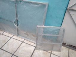 Título do anúncio: Janela de Alumínio 2 Folhas Com Vidro 1:50x1:00 Basculante 60x60 Com Vidros