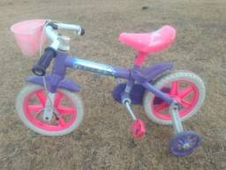Título do anúncio: Bicicleta infantil usada