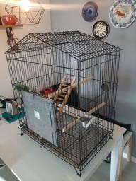 Título do anúncio: Gaiola viveiro triplex calopsita papagaio