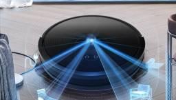 Aspirador de pó Abir X6 com navegação visual tripla, sucção 4500pa