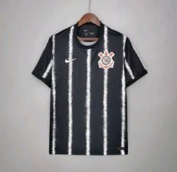 Título do anúncio: Camisa de jogo Corinthians Away 21/22 modelo torcedor Tamanho G