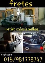 retiro móveis velhos
