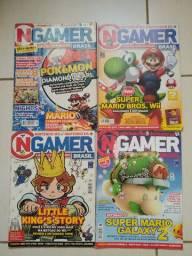 Revistas Ngamer Brasil 1, 24, 30 E 36