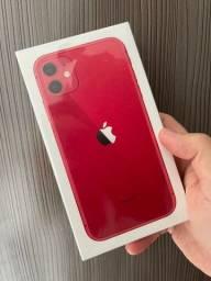 iPhone 11 64 Red Lacrado até 12x