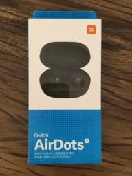 Fone de ouvido bluetooth Redmi Ardots s novo na caixa