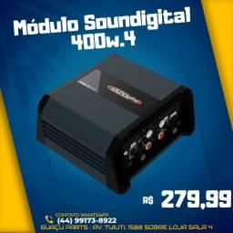 Potencia Soundigital SD400.4 Canais
