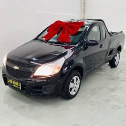 Chevrolet Montana 1.4 Ls Econoflex 2014 Vidros e travas elétricas, alarme e som