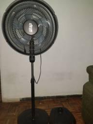 Ventilador Wap W130 3 em 1 preto com 5 pás cor  cinza, 50cm de diâmetro 127V