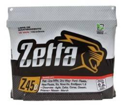 Título do anúncio: bateria zetta 45a selada á base de troca